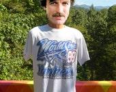 vintage 90s t-shirt new york YANKEES ny mlb baseball world series tee Large