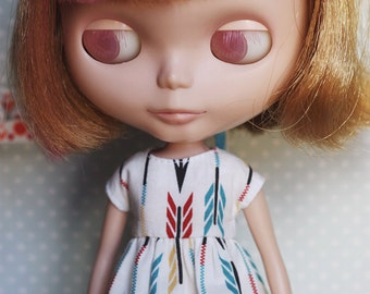 Arrows - Dress for Blythe doll by Icantdance