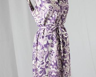 60s Purple PUCCIESQUE SHIFT DRESS