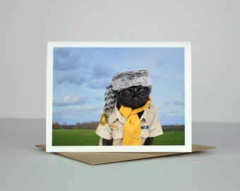 AC the Scout Greeting Card