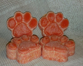 Puppy Paws Candle Tarts (Set Of 4)