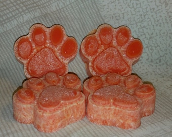 Puppy Paws Candle Tarts - Set of 4