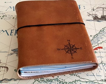 explorer journal with maps a travel journal