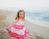 Girls Beach Dress - Hawaiian Dress