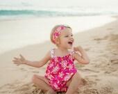 Summer Dress - Girls Beach Dress - Sea Turtle