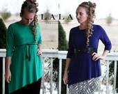 LillyAnnaKids Ladies LILLY Asymmetrical Top Shirt  LALA