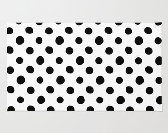 Polka Dots Rug - Rupydetequila Art