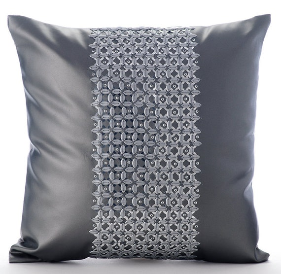 Leather Sofa For Accent Pillows: Decorative Throw Pillow Cover Accent Pillow Couch Toss Sofa