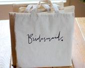 Bridesmaid Gift Tote Bag Bridal Party Gift Wedding Favor