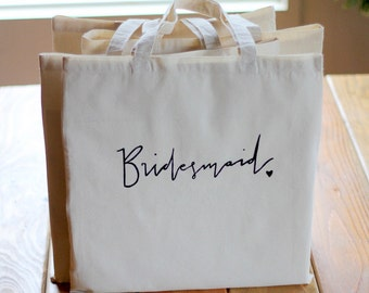 Gift Bag For the Bridesmaid Bridal Party Gift Wedding Favor