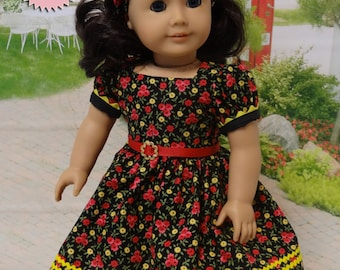 Endless Summer - vintage style dress for American Girl doll **Sale**