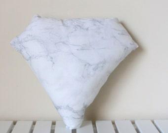Marble Diamond Mini Pillow