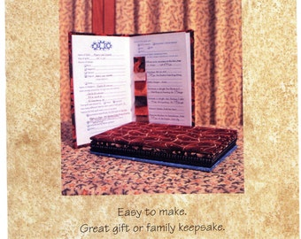 Quilt Tale Kit from Quilt Tales by Carla Brinkman, keepsake journal for handmade quilts