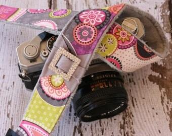 Paisley Camera Strap. dSLR Camera Strap. Padded Camera Strap. Camera Neck Strap. Digital Camera Strap. Camera Strap Cover. SLR Camera Strap.