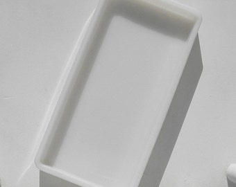 Milk Glass Dental Tray Organizer Beading Jewelry Crafting Vanity Cosmetics Office Vintage