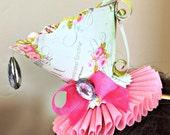 Party Hats- Teacup Fascinators- Tea Party Favors- Marie Antoinette Teacup Fascinators- CosPlay- Birthday Party Hat- Baby Shower