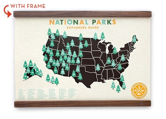 National Parks Print 11x17