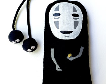 No face Kaonashi Spirited away Japanese Key Cover key rings  (UK and EU Only)