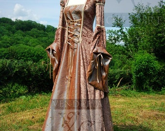 Medieval Game of Thrones inspired Dress/ Gown Made to order any size S to  XXL