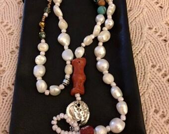 Pearls and Ganesha
