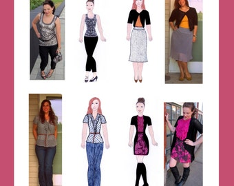 Personalized Custom Portrait Paper Doll