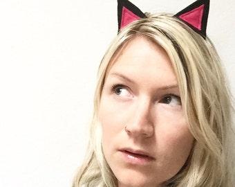 Cat Ears Headband- Custom Colors
