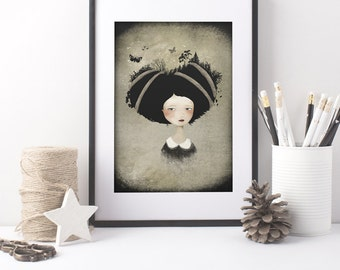 As She Carries 18/100 - Deluxe Edition Print