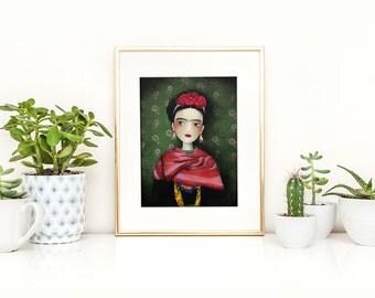 Frida - Deluxe Edition Print