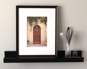 Framed Photography, Italian Photography, Framed Print, Rustic Frame Wall Decor, Italian Doorway Custom Frame,Framed Art 11x14,Doors of Italy