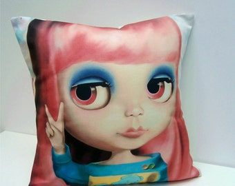 Blythe Doll Boutique Cushion / Pillow cover