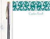 personalized notePAD - CLASSIC ORNAMENTAL - stationery - stationary - letterhead - fancy