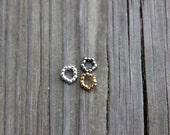 3 Metal Bead Bracelets fits Petite Slimline Dolls Monster Fairytale Gold Silver Gunmetal