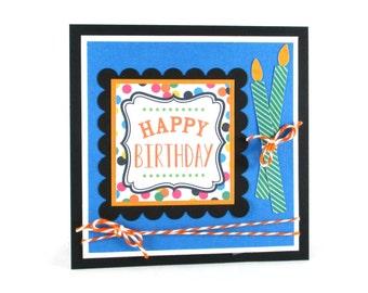 Birthday cards, happy birthday cards, birthday candles, male, female, boys, girls