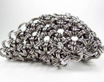 Chainmaille Bracelet - Japanese Pattern