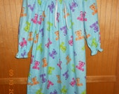 Size 6 flannel nightgown