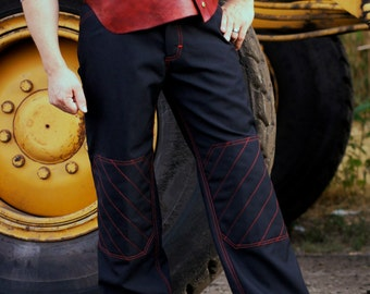 Workingman Dungarees in 15oz Gabardine---Custom Jeans