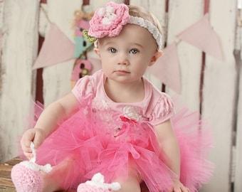 Baby Bunny Slippers, Pink Bunny Ears Baby Bunny Shoes, Bunny Baby Shoes, Baby Girl Shoes, Crochet Easter Bunny Baby Booties
