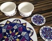 Decorative Serving Board / Table Mat / Placemat Set