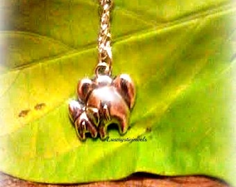 Elephant Necklace Mommy and Baby ,Animal Necklace,Lucky Elephant, Good Luck Karma,Mother and Child, Mommy Gift,Ready to Ship,Direct Checkout