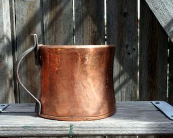 Gorgeous Copper Cup / Flower Pot / Container