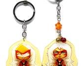 Jasper - Steven Universe Double-Sided Acrylic Keychain