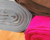 "Rayon Viscose Felt by the Yard - 72"" Wide, Over 35 Colours Available"