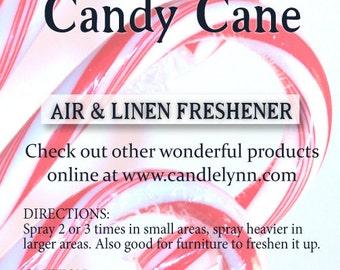 Fragrance Spray - CANDY CANE - 8 oz -  Bath & Home