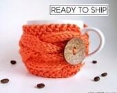 Coffee Cup Sleeve, Coffee Cup Cozy, Coffee Mug Cozy, Coffee Sleeve, Tea Cozy, Coffee Cozy, Best Selling Items, Most Popular Item, Knit Mug