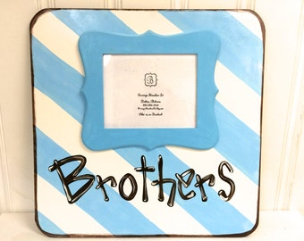 LARGE Brothers Picture Frame - Bronwyn Hanahan Art