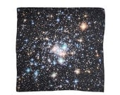 Star Cluster Galaxy Silk Pocket Square, Handkerchief