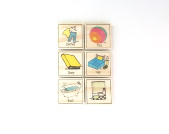 Little Ones - Chore Magnet Set of 6 - Chore Magnets