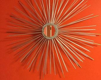 Starburst Mirror, Mid Century Modern Retro, Made-to-Order