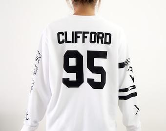 Clifford 95 shirt etsy for Michael clifford tattoo