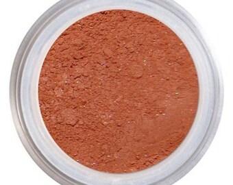 Blush Makeup / CAYENNE / Loose Mineral Blush / Natural Blush / Spice Blush / Vegan + Cruelty Free / Natural Mineral Makeup